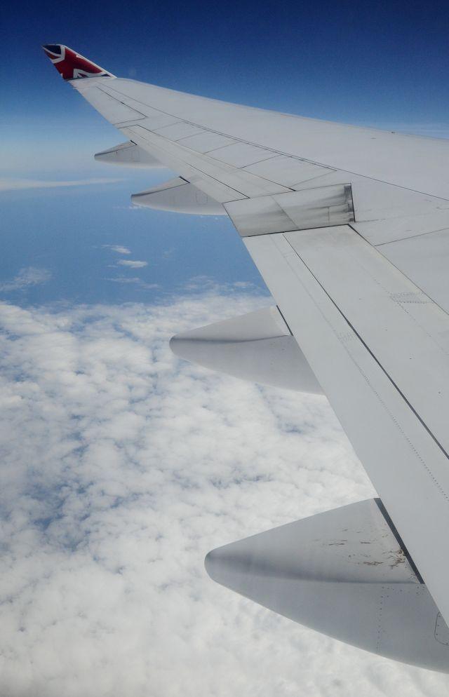 vleugel Boeing 747