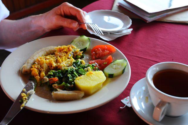 Jamaicaans ontbijt