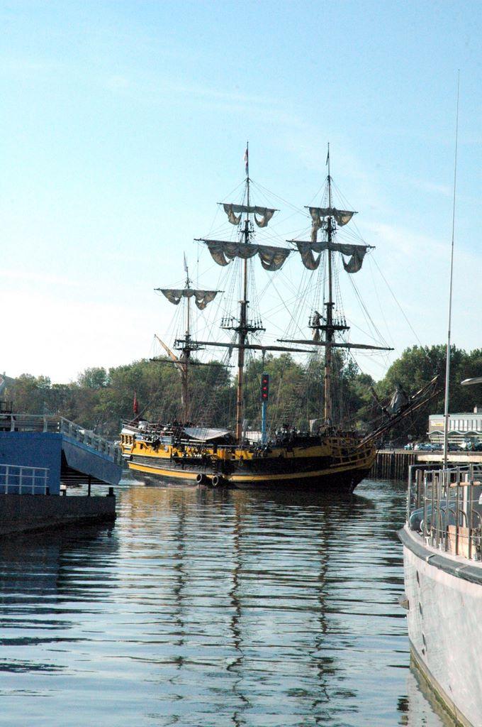 Vierkant getuigd schip