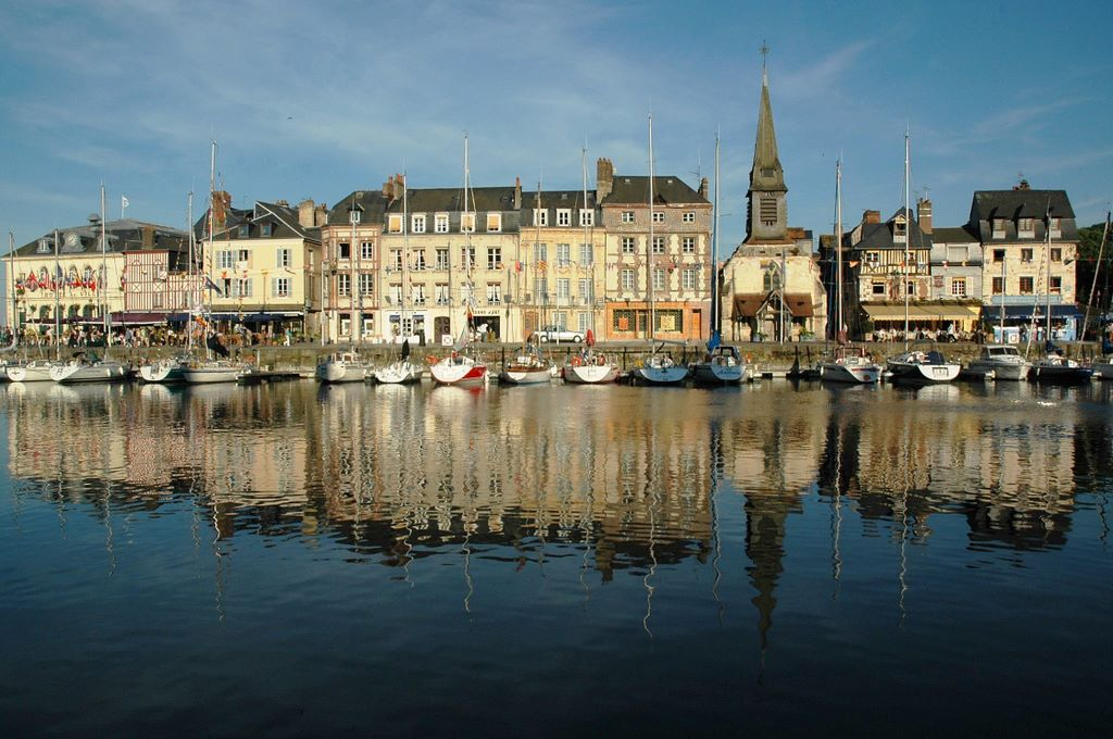 Oude haven Honfleur