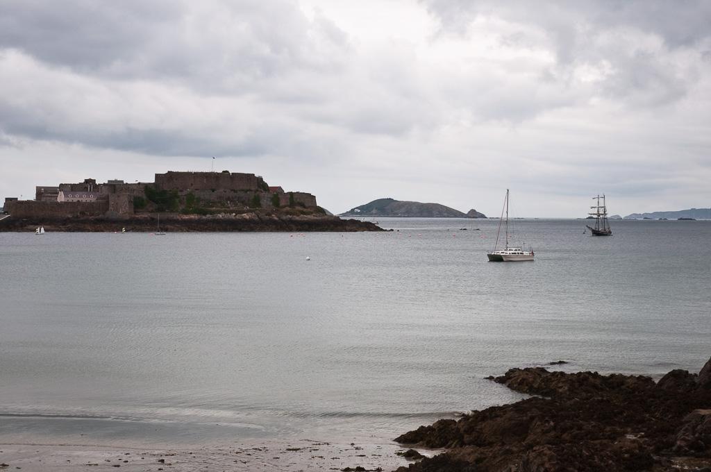 Ankerbaai bij St. Peter Port